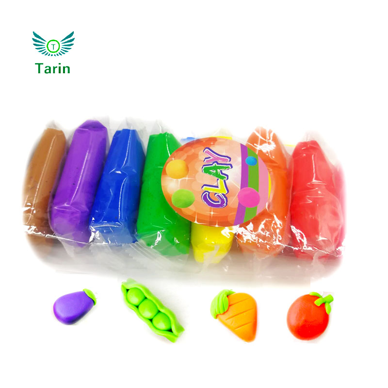 Children craft clay air drying modeling clay toy